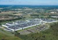 Завод VOLVO в Швеции