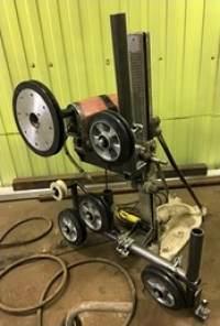 Оборудование для алмазной резки канатом с помощью установки алмазного сверления