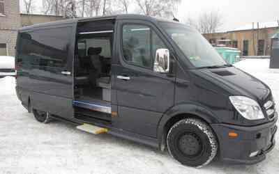 Автобус и микроавтобус Mercedes заказать или взять в аренду, цены, предложения компаний