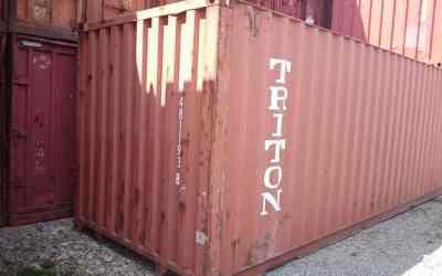 Контейнер TRITON заказать или взять в аренду, цены, предложения компаний