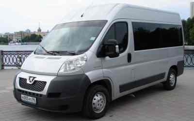 Автобус и микроавтобус Peugeot Boxer заказать или взять в аренду, цены, предложения компаний