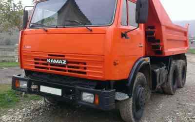 Самосвал КАМАЗ 5511 заказать или взять в аренду, цены, предложения компаний