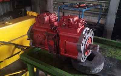 Ремонт гидронасоса K5V140 экскаватора оказываем услуги, компании по ремонту