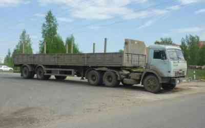 Длинномер Бортовой грузовик КАМАЗ заказать или взять в аренду, цены, предложения компаний