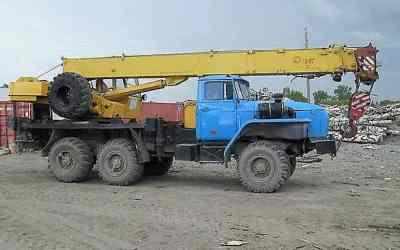 Автокран Урал вездеход заказать или взять в аренду, цены, предложения компаний
