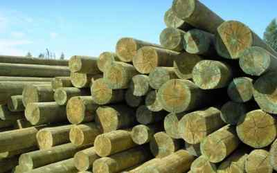 Продажа деревянных опор б/у - Новокузнецк, цены, предложения специалистов