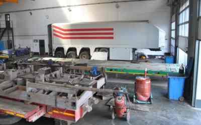 Ремонт контейнеровозов, услуги по восстановлению полуприцепа оказываем услуги, компании по ремонту