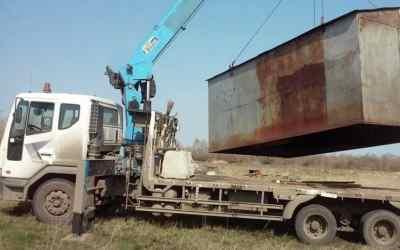 Перевозим металлические гаражи, бытовки, вагончики - Новокузнецк, цены, предложения специалистов