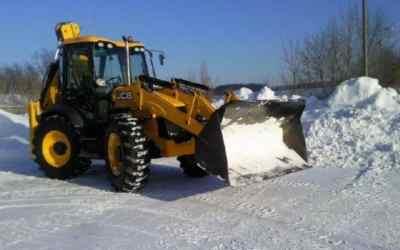 Уборка и вывоз снега спецтехникой - Новокузнецк, цены, предложения специалистов