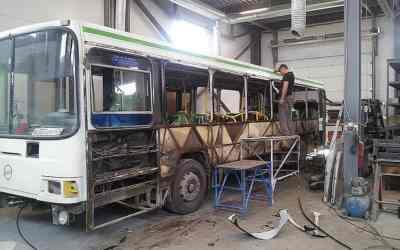 Ремонт автобусов, замена стекол, ремонт кузова оказываем услуги, компании по ремонту