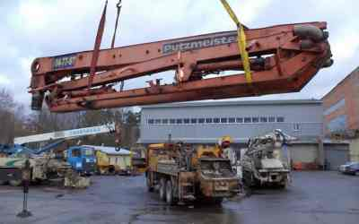 Ремонт стрел и гидроцилиндров бетононасосов оказываем услуги, компании по ремонту