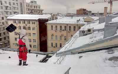 Очистка снега скрыши. Уборка снега,наледи,сосулек - Новокузнецк, цены, предложения специалистов