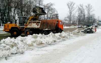 Уборка вывоз снега - Кемерово, цены, предложения специалистов