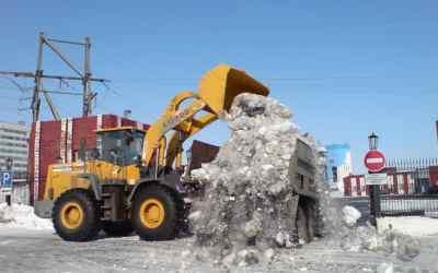 Уборка и вывоз снега. Погрузчик фронтальный. Камаз - Кемерово, цены, предложения специалистов
