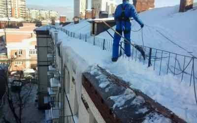 Уборка Снега с крыш и Сосулек - Новокузнецк, цены, предложения специалистов