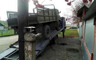Перевозка неисправного грузовика ГАЗ-66 на эвакуаторе - Новокузнецк, цены, предложения специалистов