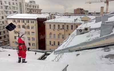 Очистка снега с крыши. Уборка улиц и дорог от снега,наледи,сосулек - Новокузнецк, цены, предложения специалистов