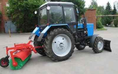 Щетка дорожная Трактор МТЗ-82 заказать или взять в аренду, цены, предложения компаний