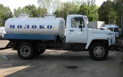 Цистерна ГАЗ-3309 Молоковоз заказать или взять в аренду, цены, предложения компаний