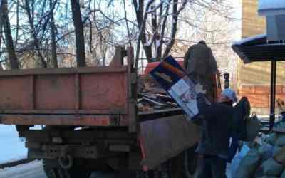 Вывоз крупного мусора, самосвалы, грузчики, ломовозы - Кемерово, цены, предложения специалистов