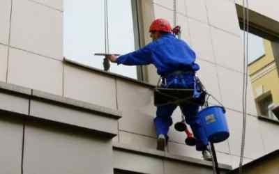 Высотная мойка окон и фасадов - Кемерово, цены, предложения специалистов
