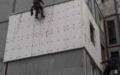 Высотные работы - утепление стен - Кемерово, цены, предложения специалистов
