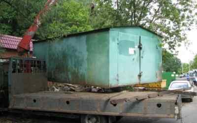 Перевозка гаражей, киосков и бытовок - Новокузнецк, цены, предложения специалистов