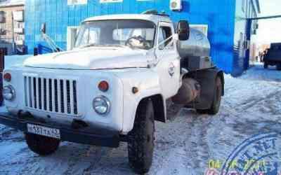 Ассенизатор ГАЗ-53 заказать или взять в аренду, цены, предложения компаний