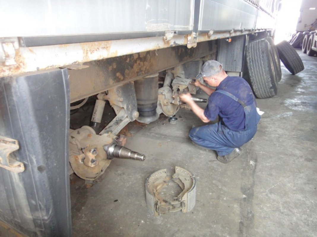 Ремонт прицепов и полуприцепов оказываем услуги, компании по ремонту