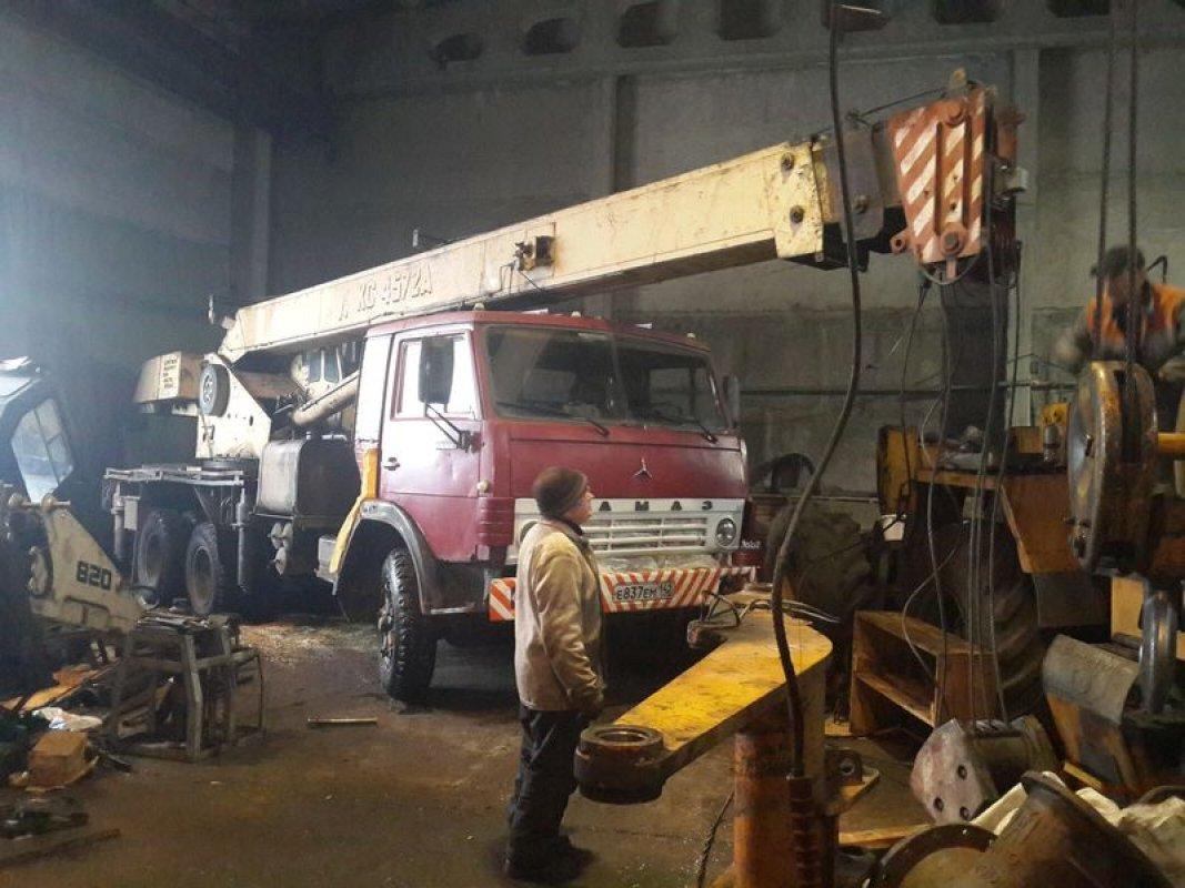 Ремонт стрел и гидроцилиндров автокранов оказываем услуги, компании по ремонту