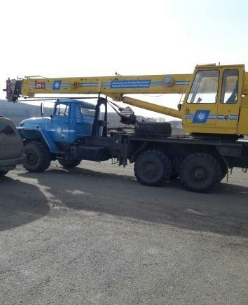 Услуги автокрана вездехода урал 25 тонн - Осинники