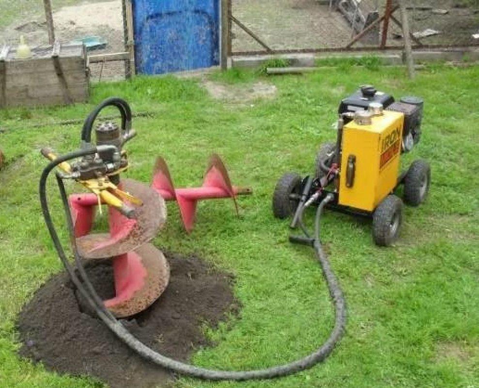 Буроям Гидравлический мотобур Iron Mole M15-450 заказать или взять в аренду, цены, предложения компаний