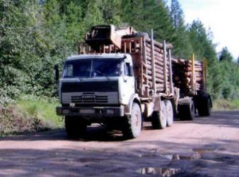 Лесовоз и лесовозная техника Камаз заказать или взять в аренду, цены, предложения компаний