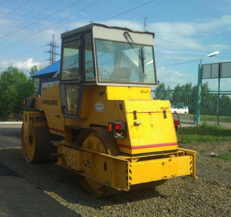 Аренда дорожного катка ДУ-47Б - Кемерово