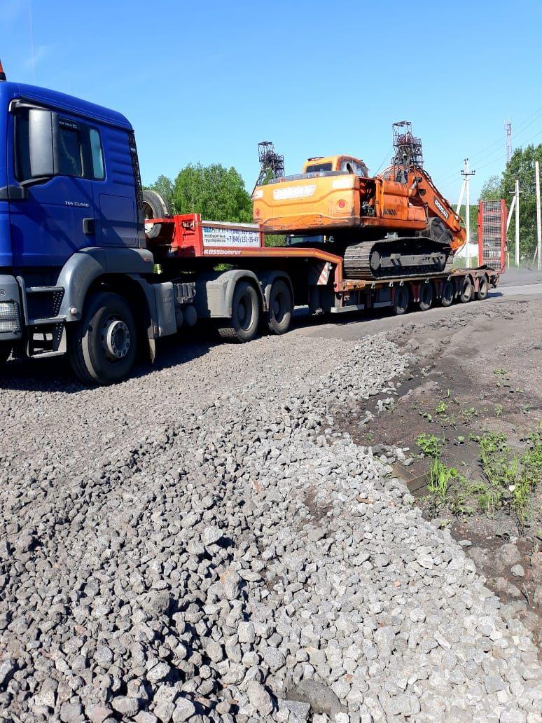 Перевозка негабаритных грузов - Новокузнецк