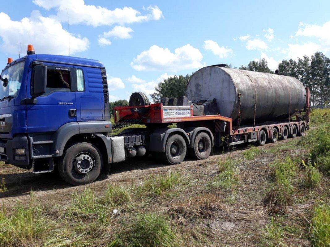 Тралы для перевозки тяжеловесных грузов — ТК Транзит