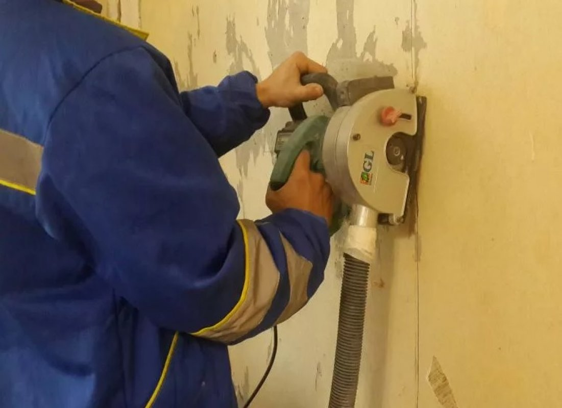 Штробление стен штроборезами и перфораторами - Новокузнецк, цены, предложения специалистов