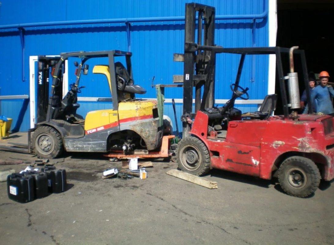 Ремонтируем вилочные погрузчики оказываем услуги, компании по ремонту