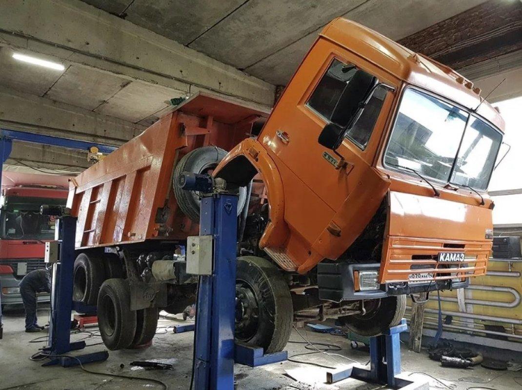 Ремонт самосвалов (кузов, ходовая, двигатель) оказываем услуги, компании по ремонту
