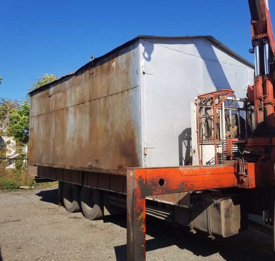 Услуги манипулятора (воровайка) перевозка гаражей - Кемерово, цены, предложения специалистов