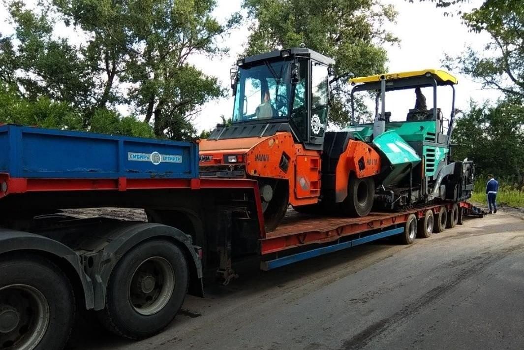 Трал негабаритный груз попутно перевозка до90т РФ - Кемерово, цены, предложения специалистов