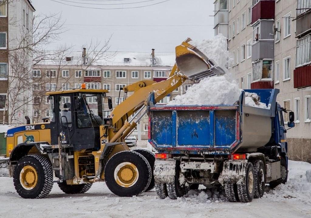 Услуги Экскаватор Камаз Кран Вывоз Уборка снега - Кемерово