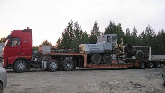 Услуги и заказ тралов, негабаритные перевозки - Кемерово