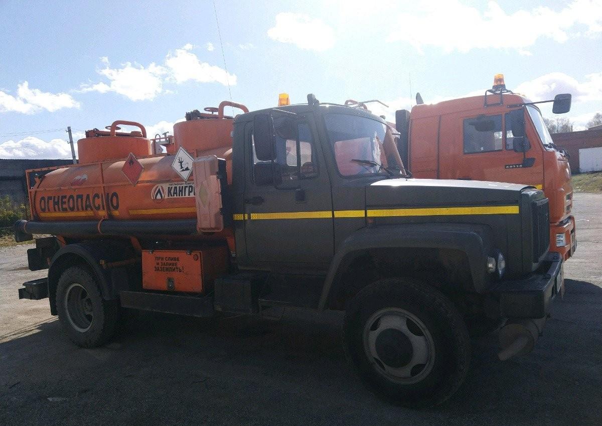 Доставка топлива цистерной бензовозом - Новокузнецк