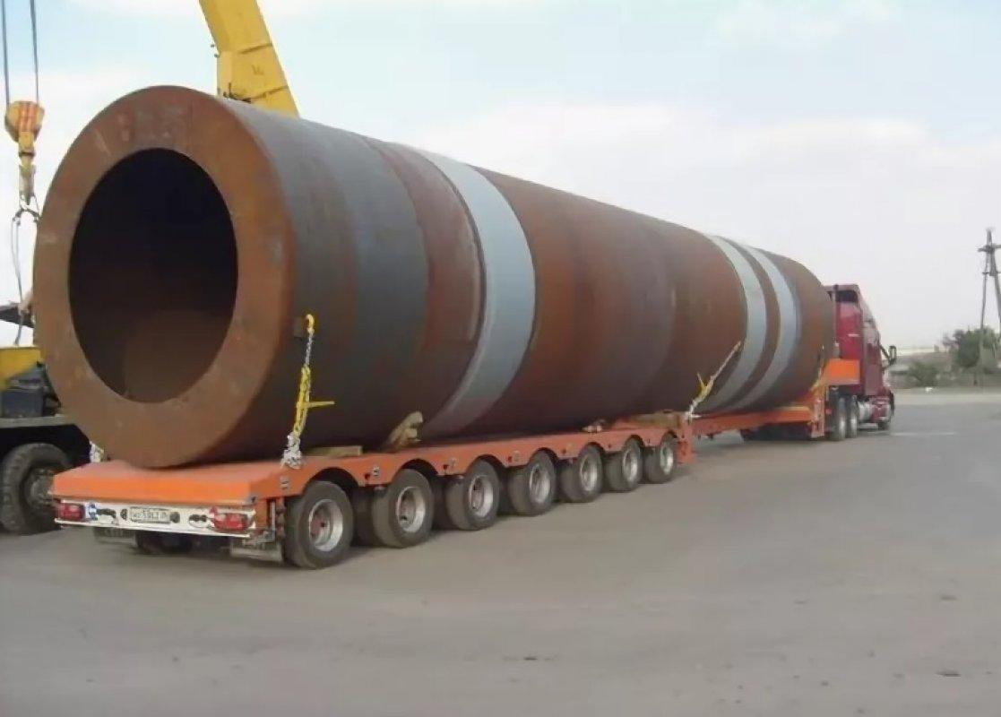 Перевозка труб больших диаметров тралами и площадками - Новокузнецк, цены, предложения специалистов