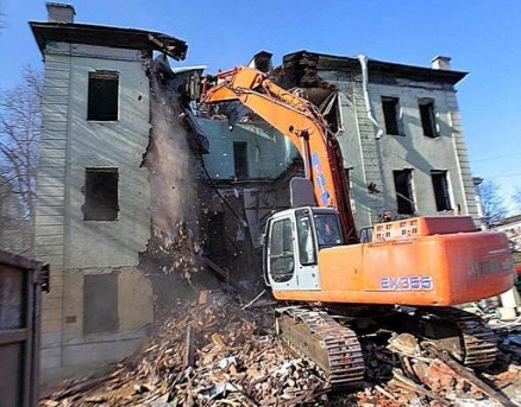 Снос домов спецтехникой - Новокузнецк, цены, предложения специалистов