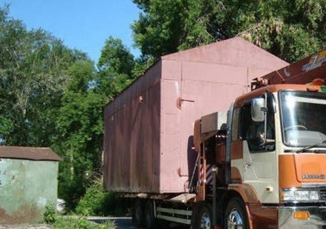 Перевозка гаражей, киосков и бытовок - Кемерово, цены, предложения специалистов