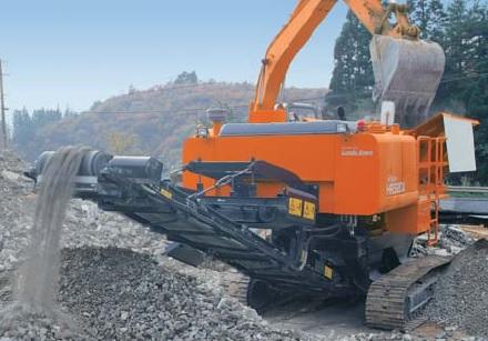 Сортировочная установка Hitachi HR320 заказать или взять в аренду, цены, предложения компаний