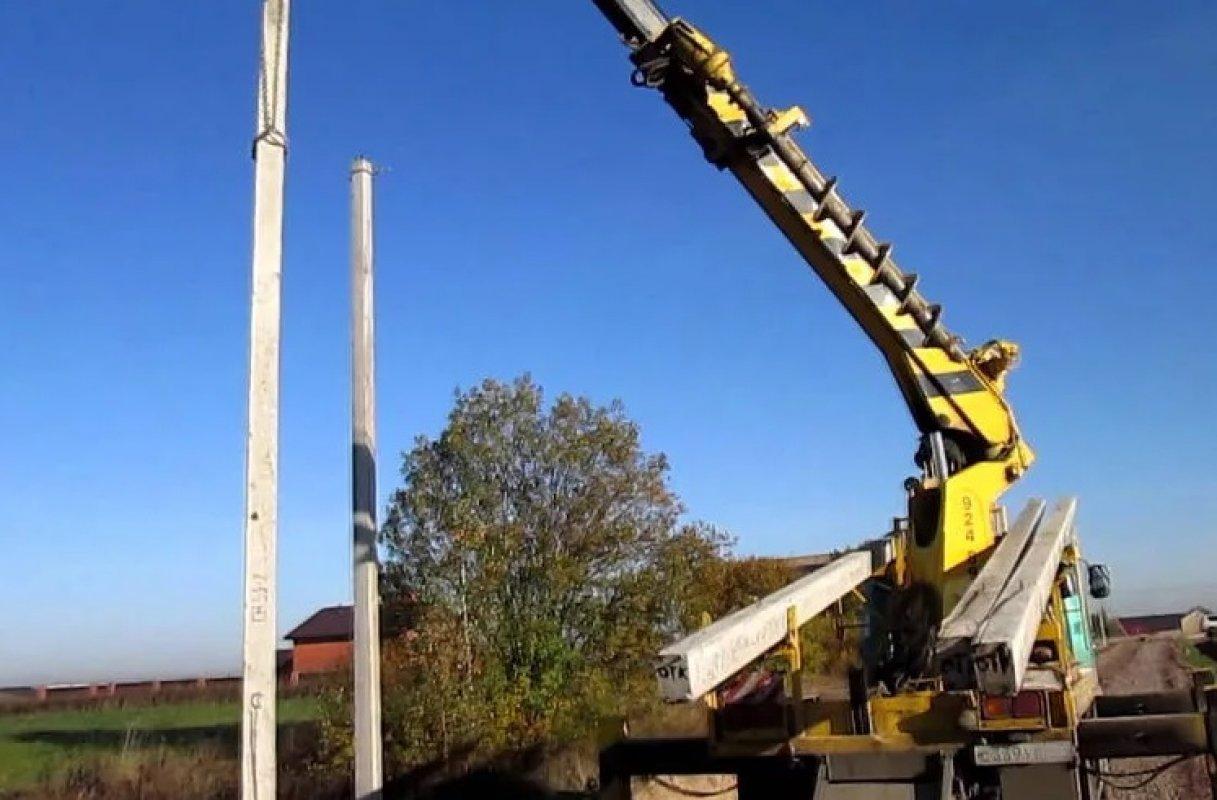 Монтаж опор линий электропередач, услуги бурояма - Кемерово, цены, предложения специалистов